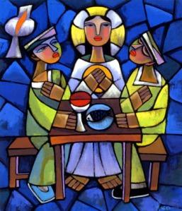 Supper at Emmaus - He Qi