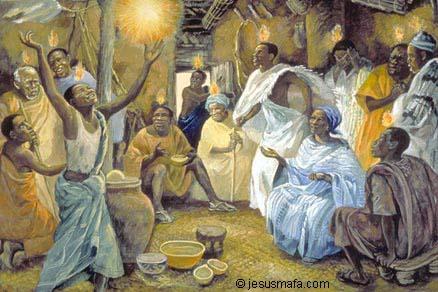 Pentecost - Jesus Mafa