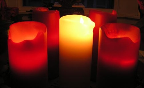Andvent candles