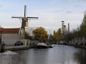 Canals and Windmills - this must be Holland