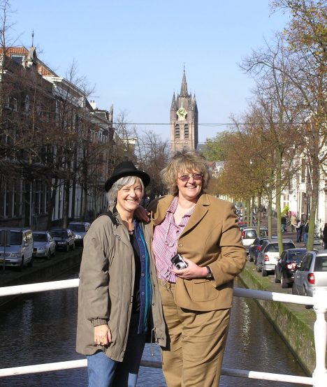 With Louise in Delft