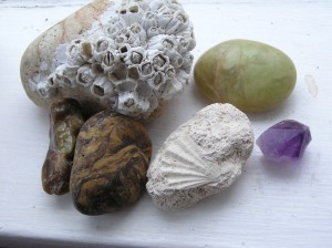 Collecting rocks - a path to remembrance