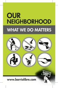 Our neighbourhood - what we do matters