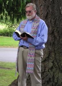 Father John Leech - St Albans picnic 2011