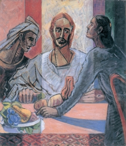 Supper at Emmaus - Roy de Maistre