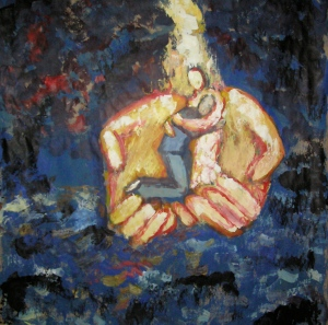 Held in God's hand