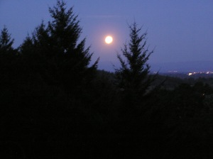 Full moon to guide us