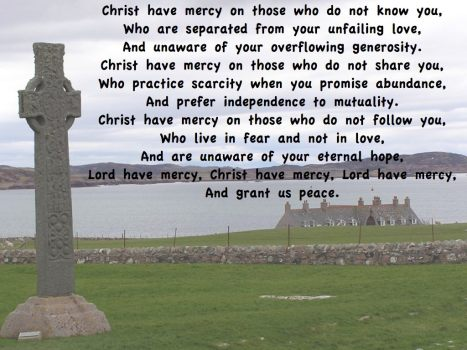 Christ Have mercy - A prayer for Light for the Journey
