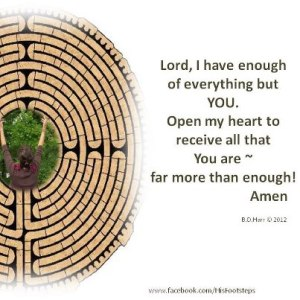 Lord I have enough of everything - Bonnie Harr