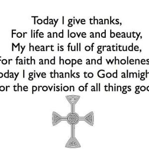 Today I give thanks - Christine Sine