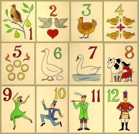 12 Days of Christmas Xavier Romero-Frias via wikimedia