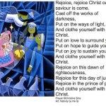 Clothe yourself with Christ – ChristineSine