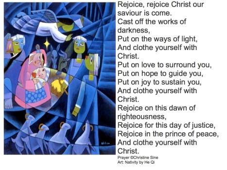 Rejoice Rejoice, Christ our Saviour is come.001