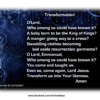 Transformation - Bonnie Harr