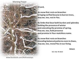 Morning Prayer - Bonnie Harr