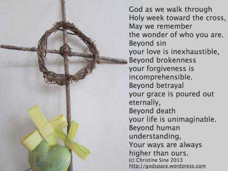 Holy week prayer 2013.001