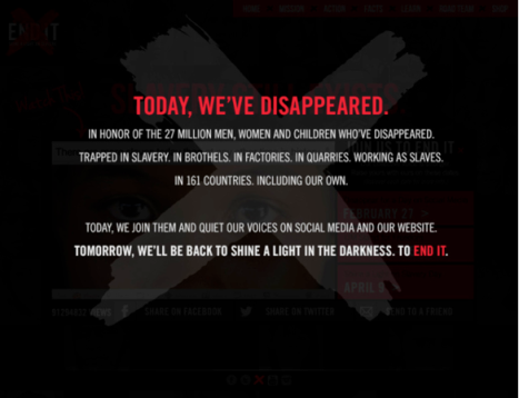 Today We've Disappeared