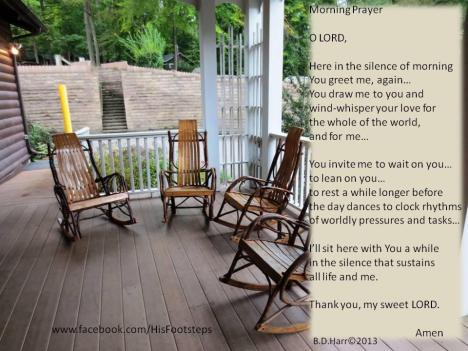 In the stillness of the morning - Bonnie Harr