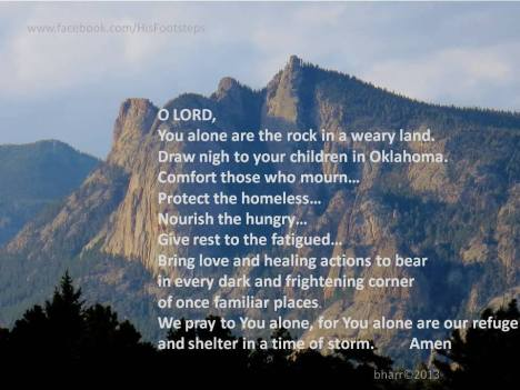 Prayer for Oklahoma.