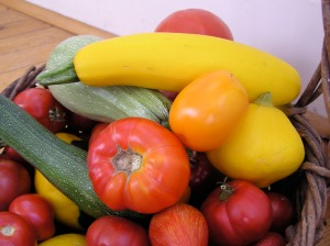 Tomatoes and summer squash - Are they safe?