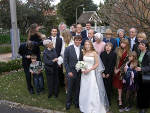 Aroney family wedding