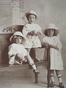Mum - early family photo