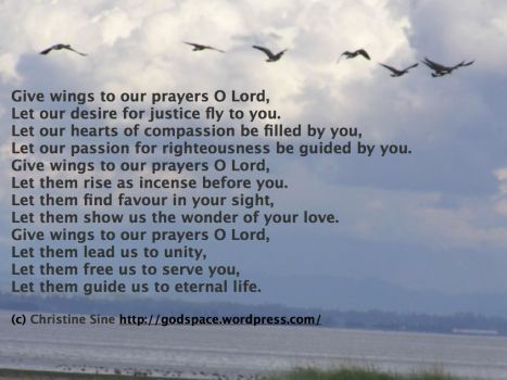 Give wings to Your prayer O Lord.001
