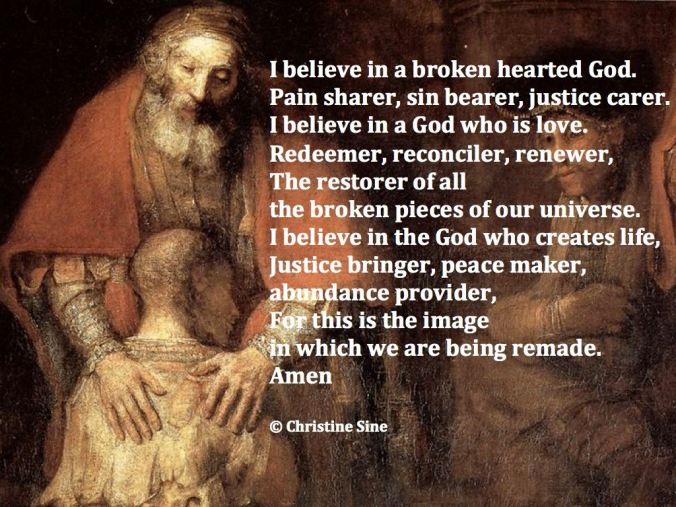 I believe in a brokenhearted God.001