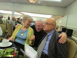 Peggy and Tony Campolo and Jim Wallis At Ron Sider Roast.