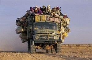 Sahara bus - Frans Lemmens